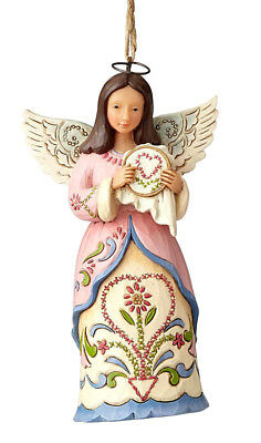 Jim Shore*SEWING ANGEL ORNAMENT*New 2018*NIB*Heartwood Creek*CHRISTMAS*6001516