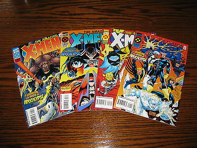 Marvel - THE AMAZING X-MEN 1 - 4 Complete!!  VF 1995 Age Apocalypse!