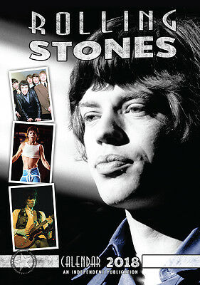 Calendrier ROLLING STONES 2018