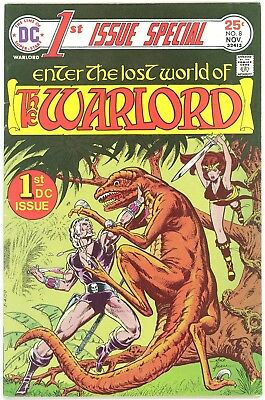 1975 DC Comics First 1st ISSUE SPECIAL #8 Enter Lost World of THE WARLORD fn-vf