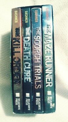 The Maze Runner Series the times for life is over by Dashner, James 4 books