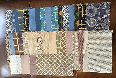 PK Conserves 38 Pc Set Fabric Swatches Repurpose Crafts Quilting Sewing Project