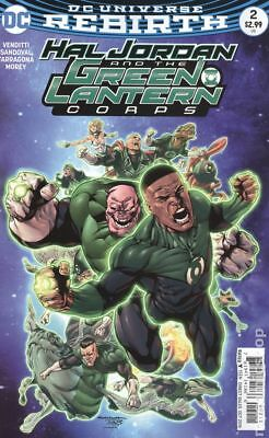 Hal Jordan and The Green Lantern Corps #2A 2016 Sandoval FN Stock Image
