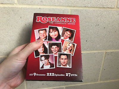 Roseanne: The Complete Series (DVD, 2013, 27-Disc Set) with SLIPCOVER 100% USA