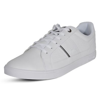 d5c10b02ba53b Lacoste Europa 417 1 SPM Casual Fashion Sneakers Shoes Leather Lace Up White
