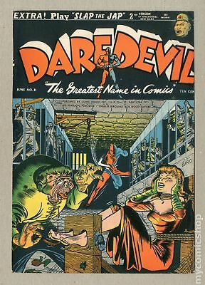 Daredevil Comics (1941 Lev Gleason) 11 Front Cover Only