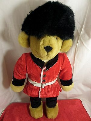 MERRYTHOUGHTS PALACE GUARD  TEDDY BEAR....made in England