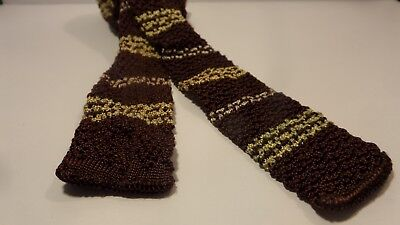 1930's mens vintage knit neckties