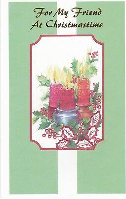 Christmas Card with Envelope for Friend