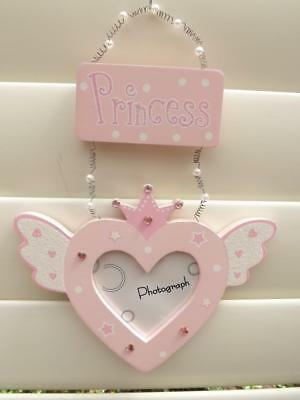 1 Gorgeous * Princess* Photo Frame Holder *Pink*  New*