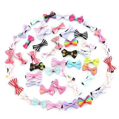 Hair Bows Baby Clips Accessories Girls Ribbon Toddler Hairpin Girl Accessory 8C