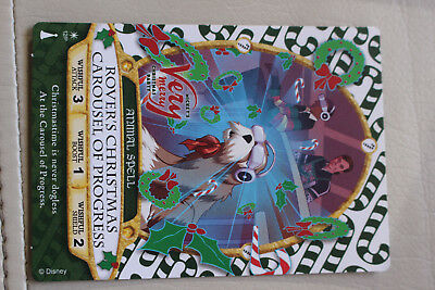 Sorcerers Of The Magic Kingdom PARTY Spell Card #12/P Rover's Christmas Carousel
