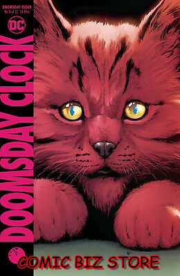 Doomsday Clock #8 (Of 12) (2018) 1St Printing Frank Main Cover Dc Comics ($4.99)