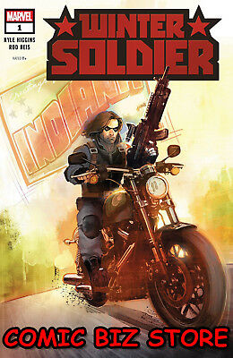 Winter Soldier #1 (Of 5) (2018) 1St Printing Rod Reis Main Cvr Bagged & Boarded