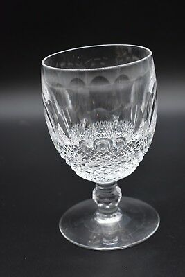 "Waterford Irish Cut Crystal Colleen Short Stem 5 1/4"" Large Claret Wine Glass"