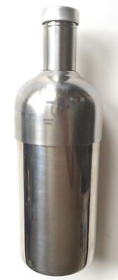 ABSOLUT VODKA -promotional cocktail shaker STAINLESS STEEL full size collectible