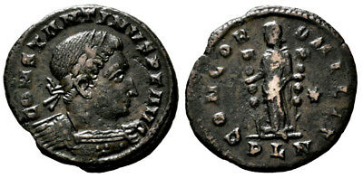 CONSTANTINE THE GREAT (310-312 AD) Follis. London #DK 11145