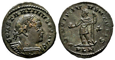 CONSTANTINE THE GREAT (310-312 AD) Follis. London #DK 11146