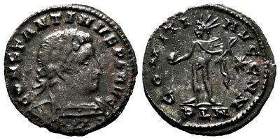 CONSTANTINE THE GREAT (310-312 AD) Rare Follis. London #DK 11143