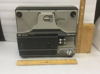 Vintage Bell & Howell Multi Motion 8MM & Super 8mm Movie Projector