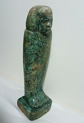 RARE ANCIENT EGYPTIAN ANTIQUE USHABTI Pharaonic Statue 1850-1420 BC