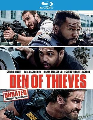Den of Thieves (Blu-ray disc, 2018, Canadian)