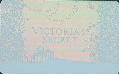 Victoria's Secret PINK SNOW FLAKES Gift Card Collectible NO CASH VALUE