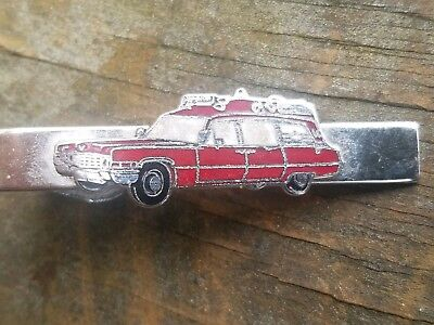 GHOSTBUSTERS Tie Clip. THE  GHOSTBUSTER CAR. Vintage Accessory