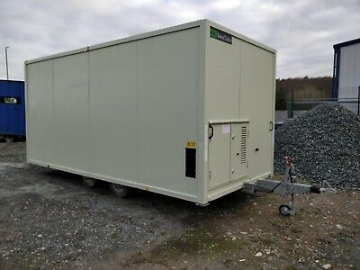 AJC 12 man 16ft towable welfare unit site office cabin toilet £9995+vat