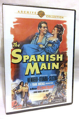 Spanish Main, The DVD Movie 1945 Color Sealed New 2012