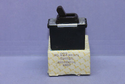 Vintage Despard Interchangeable Eagle Brown 3-WAY Toggle Light Switch - 10A  NEW