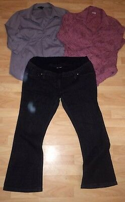 Maternity Jeans Tops Size 18 Mothercare Dorothy Perkins Moda Shirt Office