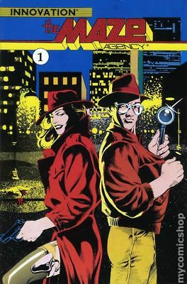 Maze Agency TPB (Innovation) #1-1ST 1990 VF Stock Image