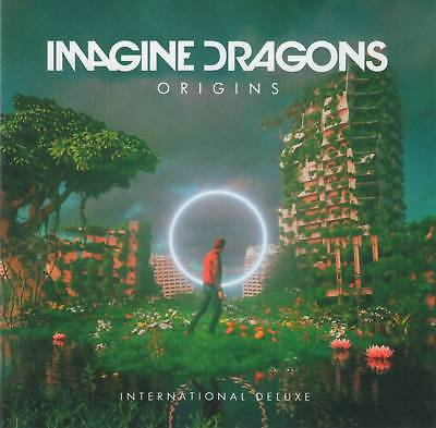 IMAGINE DRAGONS - ORIGINS (Deluxe Ed., +4 Bonus)(2018) CD Jewel Case+FREE GIFT