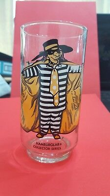 1970'S McDONALD'S HAMBURGLAR GLASS - NEW FROM CASE