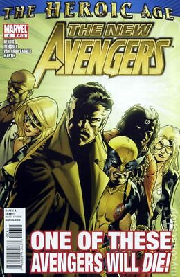 New Avengers (2nd Series) #6 2011 VF Stock Image