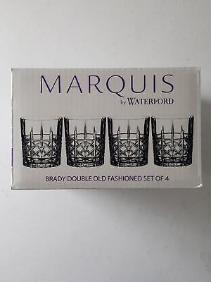 Marquis By Waterford - Brady Double Old Fashioned Glasses - Set of 4 - 40018563