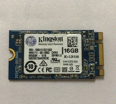 Kingston RBU-SNS4151S3/16GD 16GB Solid State SSD Acer NGFF M.2 2242