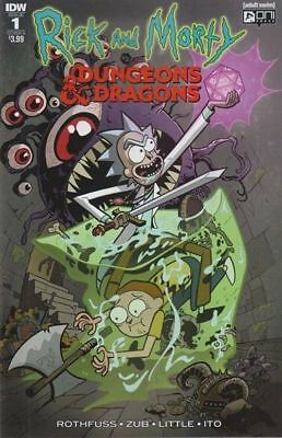 Rick and Morty vs Dungeons & Dragons #1 COVER A FIRST PRINT