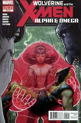 Wolverine and the X-Men Alpha and Omega #5 2012 VF Stock Image