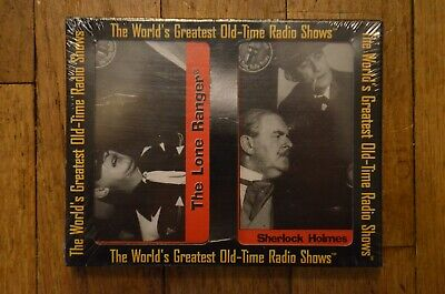 The Worlds Old Time Radio Shows The Lone Ranger Sherlock Holmes Cassette NEW
