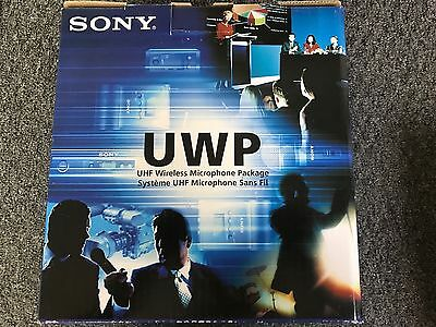 SONY UWP-S1 (66/68) NEW - UHF Wireless Lavalier System