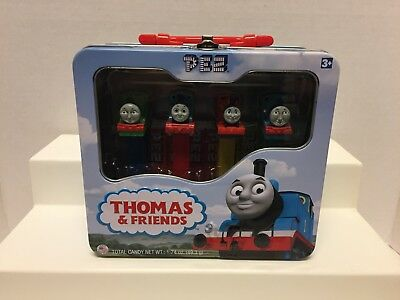 From Hit Entertainment PEZ Limited Edition Thomas The Train & Friends Tin Lunch