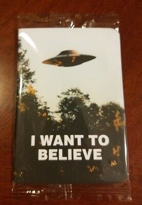 "X-Files ""I Want to Believe"" Loot Crate Exclusive Pocket Journal"