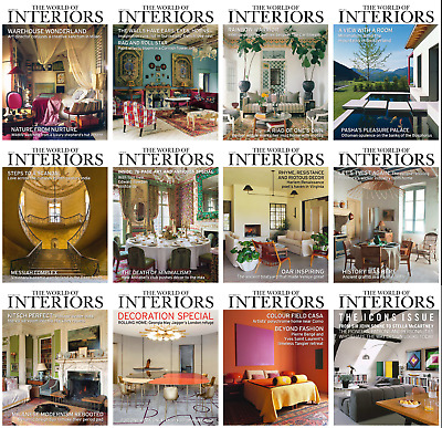 The World Of Interiors - 2018 Full Year Issues [Digital-Pdf]