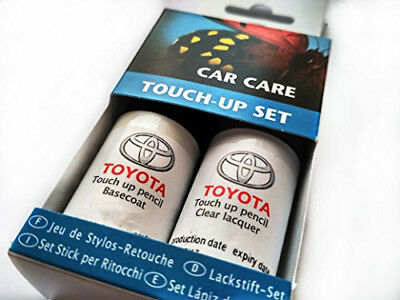 TOYOTA Genuine Touch-Up Paint Set SUPER WHITE2  040