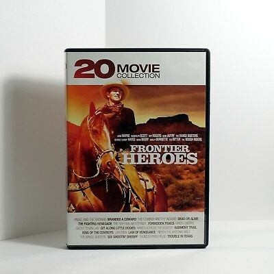 DVD Branded A Coward / Forbidden Trails / King of Cowboys Cowboy and the Indians