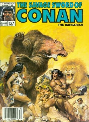 Savage Sword of Conan (Magazine) #167 1989 VF Stock Image