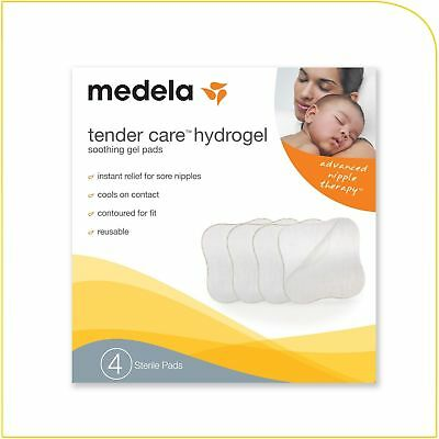 Medela Soothing Gel Pads for Breastfeeding, 4 count, Tender Care Hydrogel Pads