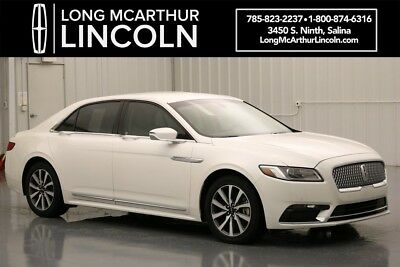 2017 Lincoln Continental PREMIERE FWD 3.7 V6 6 SPEED AUTOMATIC SEDAN CONTINUOUSLY CONTROLLED DAMPING SUSPENSION ACTIVE NOISE CANCELLATION